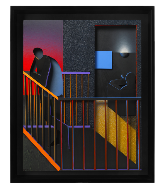 , 'THE BALCONY,' 2014, Elms Lesters Painting Rooms