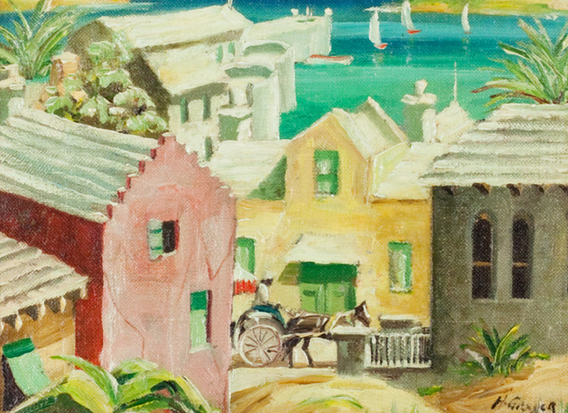 , 'Harbor in Bermuda,' , Questroyal Fine Art