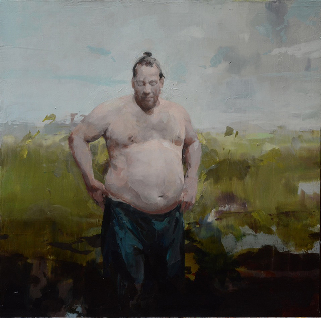 , 'Big Man in Landscape, A.S.,' 2018, Dolby Chadwick Gallery