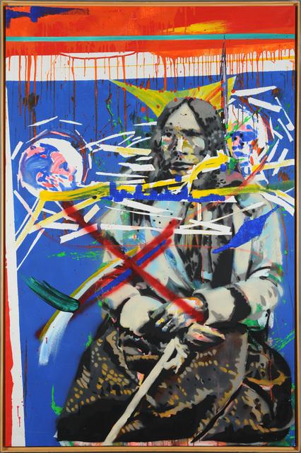 Christof Kohlhöfer, 'Depiction of Indians', 1986, SETAREH