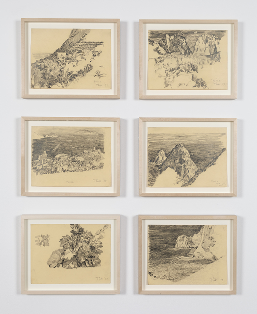 , 'Untitled (Ponza drawings),' 1973, Mai 36 Galerie