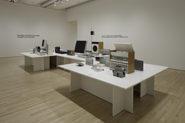 "Dieter Rams, 'Installation view ""Less and More: The Design Ethos of Dieter Rams""', 2011, San Francisco Museum of Modern Art (SFMOMA)"