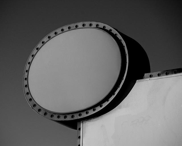 , 'Empty Sign,' 2015, Cynthia Corbett Gallery