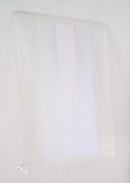 , 'Untitled (Violet/Blue Rectangles),' 2015, Galleri Urbane