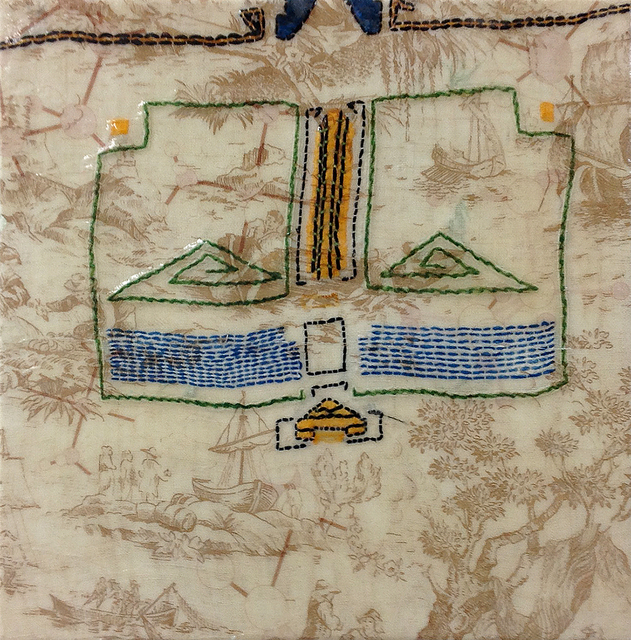 Barbara Strasen, 'Mayan and Toile', 1996, Ethos Contemporary Art