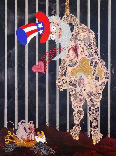 , 'Danglin' Sam ,' 2014, Gallery Poulsen