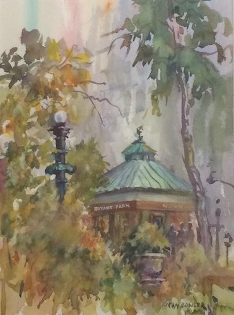 Jean Bowler, 'Bryant Park', 2019, The Galleries at Salmagundi