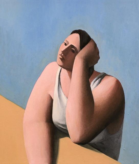 Tony Toscani, 'Daydreamer In White', 2018, Massey Klein Gallery