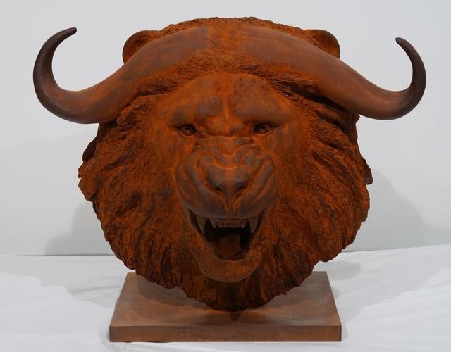 Mauro Corda, 'Tête lion-buffle', 2019, Bel-Air Fine Art