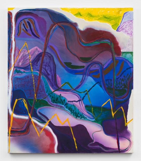 , 'Weeping Blur,' 2018, Rachel Uffner Gallery
