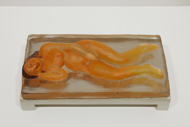 , 'Orange Sleeper/ Female,' 2014, James Harris Gallery