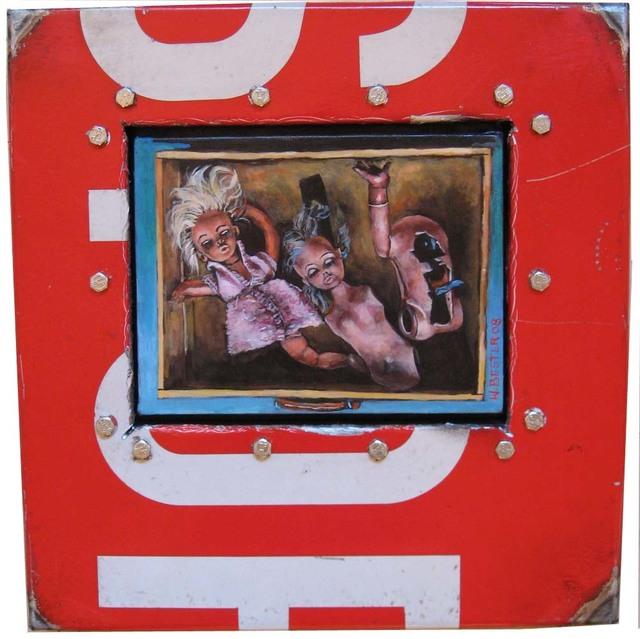 , 'Kid with Doll,' 1999, Erdmann Contemporary
