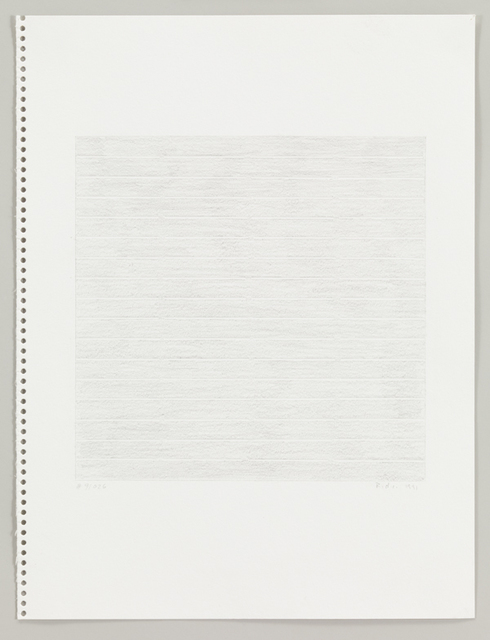 Rudolf de Crignis, '#91026', 1991, Drawing, Collage or other Work on Paper, Pencil on paper, Bartha Contemporary