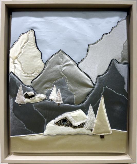 , 'Deux Chalets sur Montagne,' 2014, MUCA