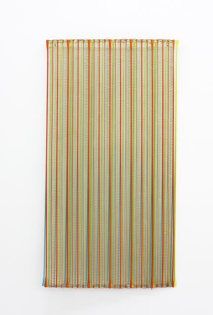 , 'Plaisir, blau, gelb, orange ,' 2018, Galerie Heike Strelow