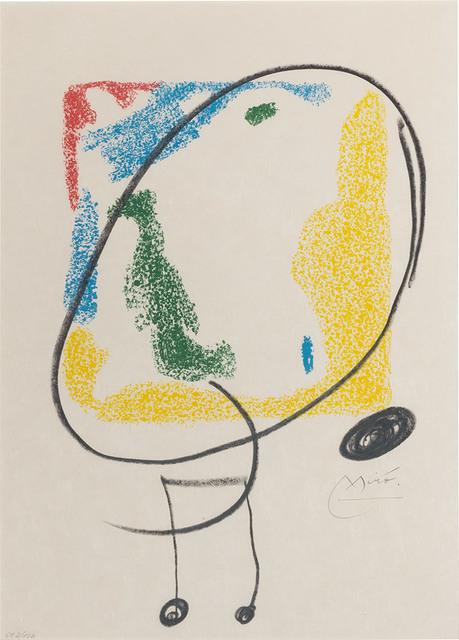 Joan Miró, 'LES ESSÈNCIES DE LA TERRA (M. 582; SEE CRAMER BOOKS 123)', 1968, Doyle