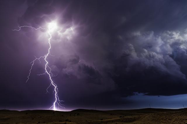 , 'Lightning Storm. Hyannis, Nebraska,' 2013, Bernarducci Meisel Gallery