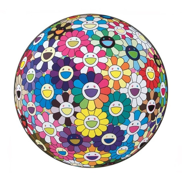 Takashi Murakami, 'Flower Ball: Multicolour (Thoughts on Matisse)', 2015, Lougher Contemporary