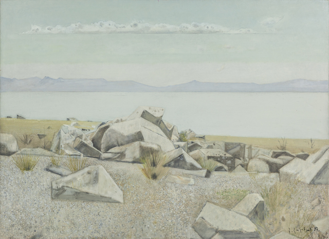 , 'Dreamy Lake Sevan,' 1987, Tufenkian Fine Arts