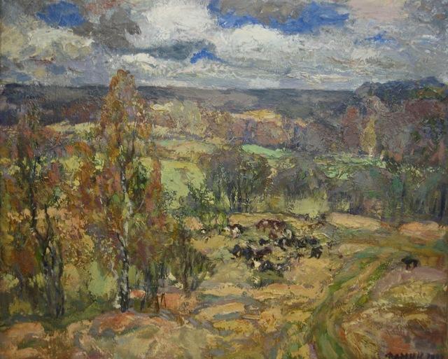 Mikhail Petrovich Fomin, 'Moscow surroundings', 1993, Surikov Foundation