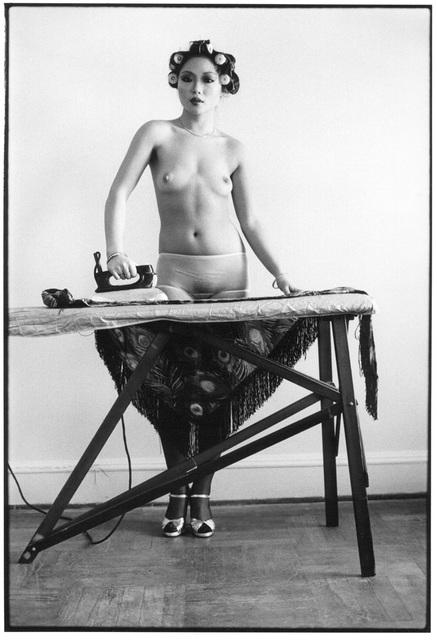 , 'Eddie Sun's Friend Ironing, NY,' 1972, Hardhitta Gallery