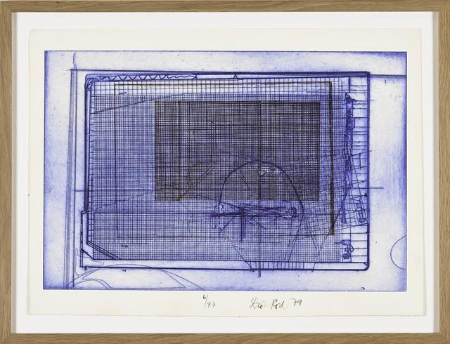 , 'Brauner Käfig in blauem (Brown Cage in Blue Cage),' , BERG Contemporary