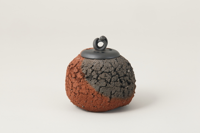, 'Sado Island Red Round Incense Burner,' 2016, Onishi Gallery