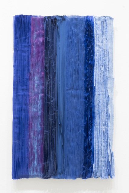 Joël Andrianomearisoa, 'Blue take me to the end of all loves (10)', 2019, Primo Marella Gallery