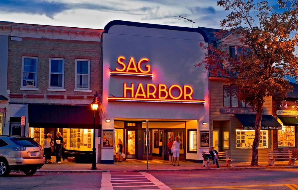 A glimpse of what Sag Harbor, so romantically, used to look like.