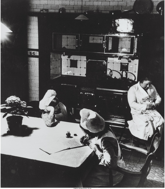 Bill Brandt, 'Late evening in the kitchen', circa 1930s, Heritage Auctions