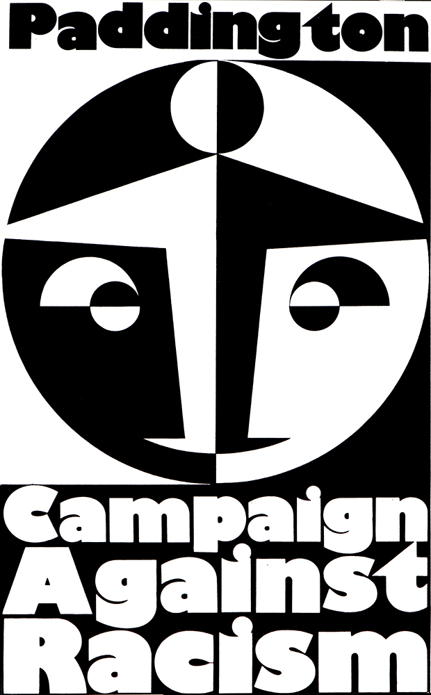 Paddington Campaign Against Racism by John Phillips, 1977
