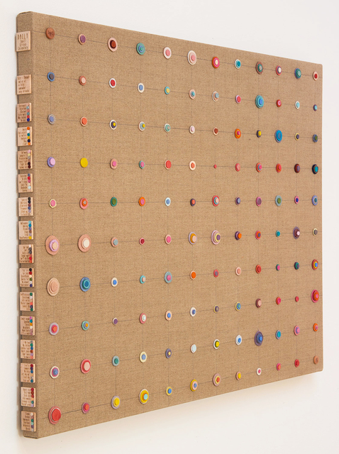 , 'Daily Stress Inventory #1,' 2015, Margaret Thatcher Projects