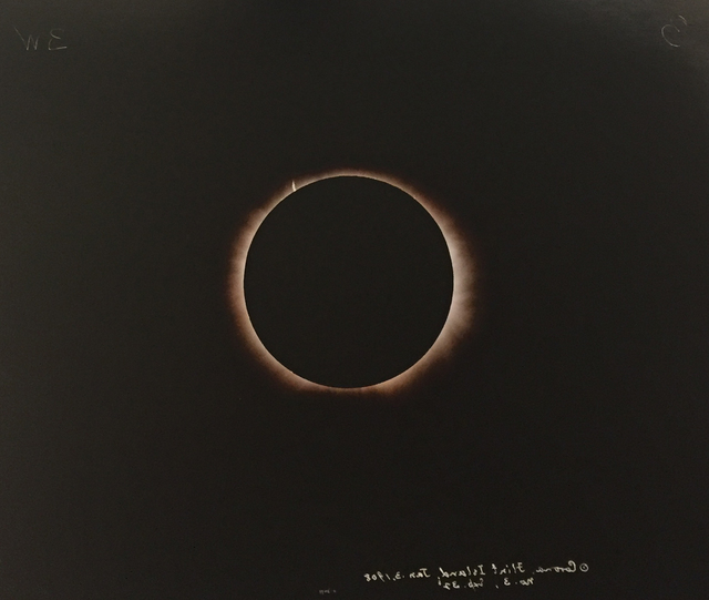Linda Connor, 'Solar Eclipse, Flint Island #3, January 3, 1903', 1996, G. Gibson Gallery