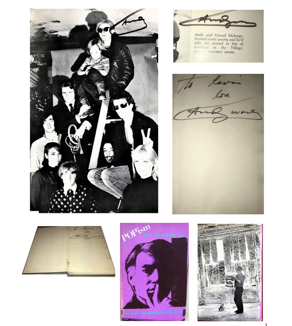 """Andy Warhol, '""""POPISM-The Warhol '60s"""", SIGNED 3-TIMES !!!!, 1980, First Edition, Hardcover, The Factory with Velvet Underground', 1980, Print, Paper, VINCE fine arts/ephemera"""