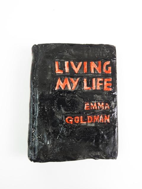 , 'Emma Goldman, Living My Life,' 2018, V1 Gallery