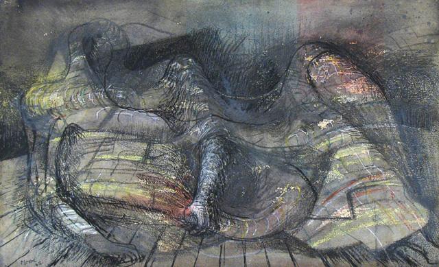 , 'Reclining figure 1942,' 1942, MacConnal-Mason Gallery