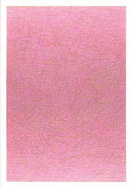 , ' Blatt 131 (aus der Serie A4),' 2015, Galerie Gisela Clement