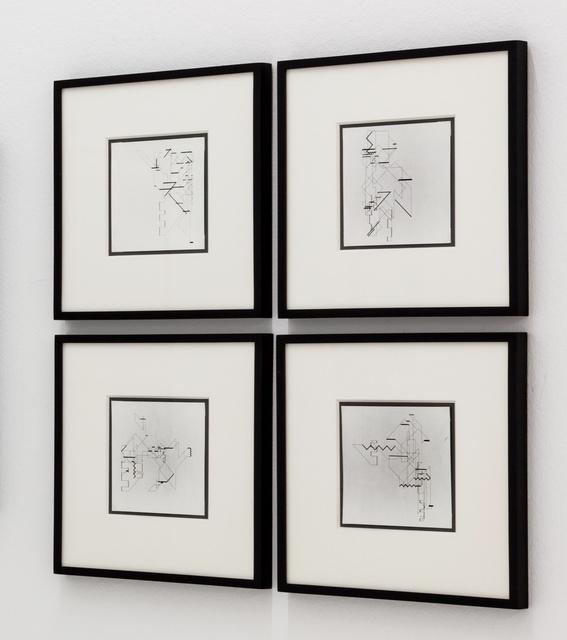, 'P-018-mf_11,14,20,21,' 1969, DAM Gallery