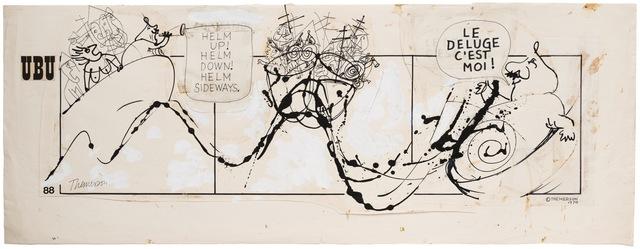 Franciszka Themerson, 'Comic strip 88', 1970, Richard Saltoun