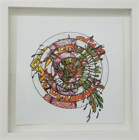 , 'BLEERRGH (study 2),' 2016-2017, Ro2 Art