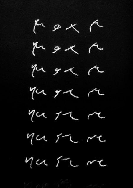 , 'Text/Nature,' 2014, Galerie Conradi