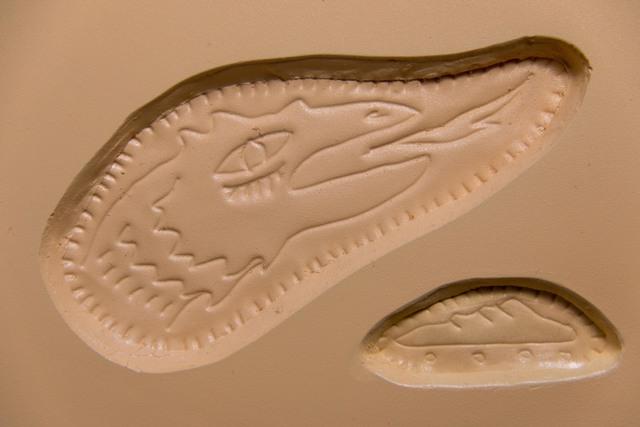 , 'Fósil II (durazno),' 2017, SKETCH