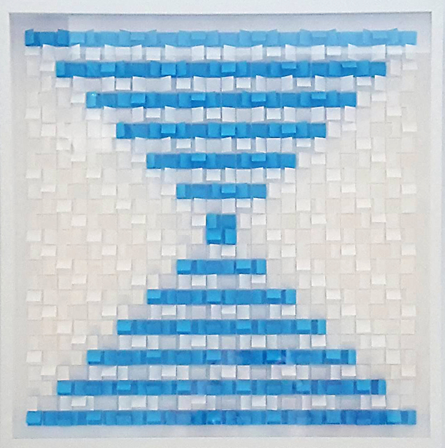 , 'White/Sea Blue,' , The Lionheart Gallery