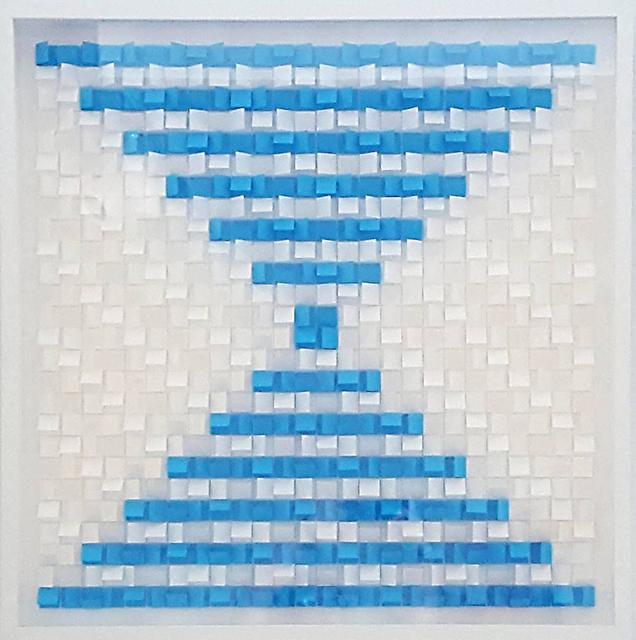 , 'White/Sea Blue,' , Paraphé