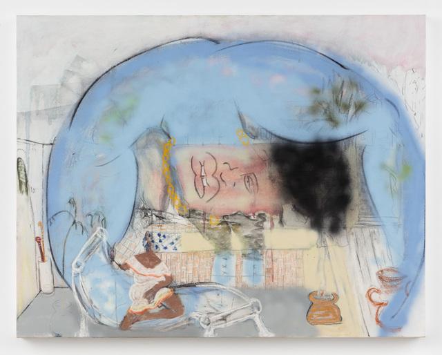 Curtis Talwst Santiago, 'Blue Impepho Vision', 2017, Rachel Uffner Gallery