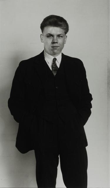 August Sander, 'Member of the KPD, Communist Party of Germany [Richard Creutzburg], c. 1926', Galerie Julian Sander
