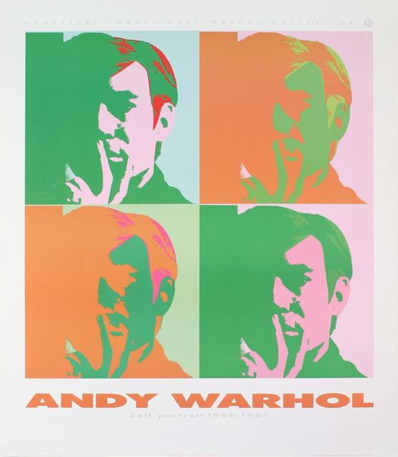 1954 -1989 Poster Andy Warhol-Formula 1 Car W 196 R