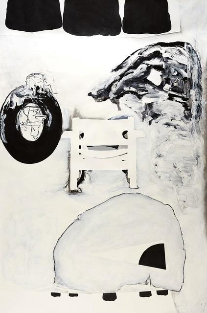 , 'O,' 2014, David Richard Gallery