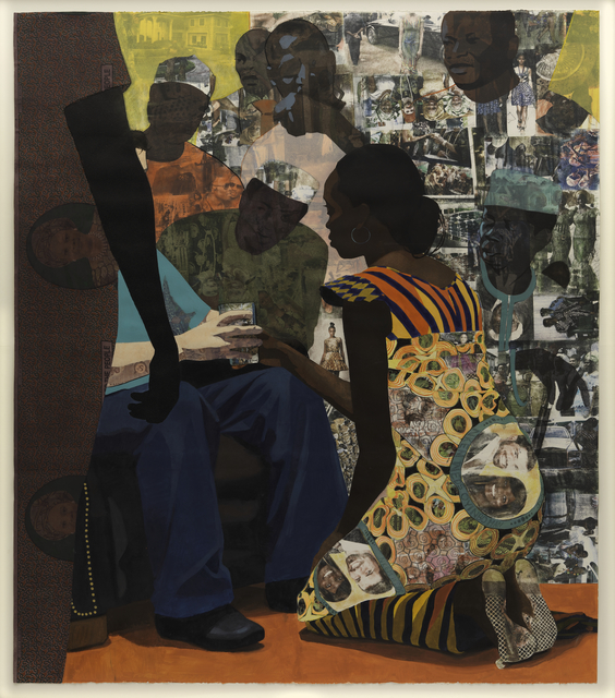 Njideka Akunyili Crosby, 'Wedding Portrait', 2012, San Francisco Museum of Modern Art (SFMOMA)