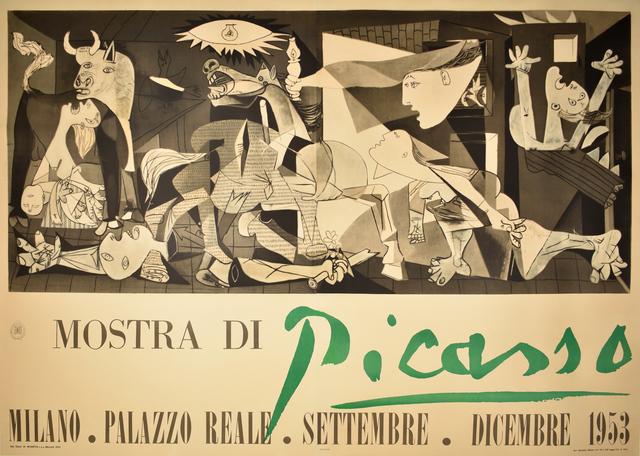 Pablo Picasso, 'MOSTRA DI PICASS0 - GUERNICA - SPANISH CIVIL WAR', 1953, Omnibus Gallery